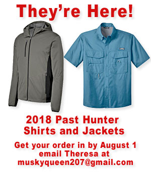 They're Here!  - PAST HUNTER SHIRTS AND JACKETS
